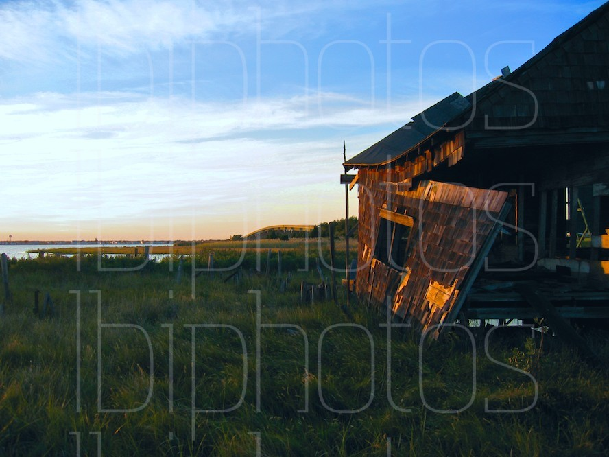 Long Beach Island (LBI) Happy Days Shack Side at Sunset (Color)
