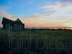 Long Beach Island (LBI) Happy Days Shack to the Left Sunset (Color)