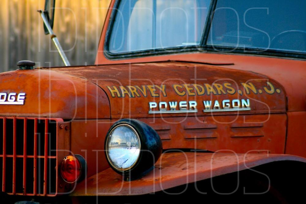 A Harvey Cedars Firetruck (Color)