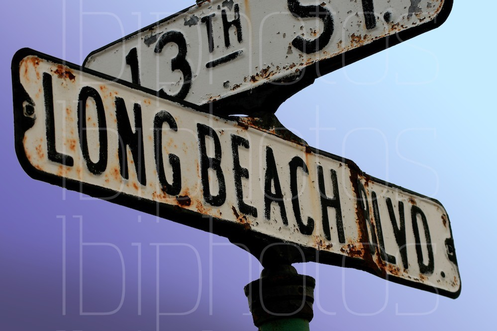 A Street Sign Named LBI (Color)
