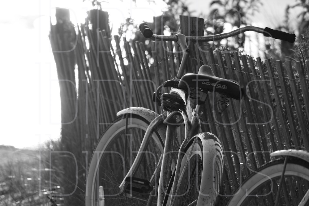 Silver Bike 1 (BW)