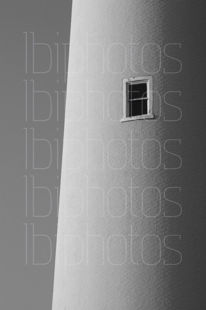 Cape May Lighthouse 3 (BW)