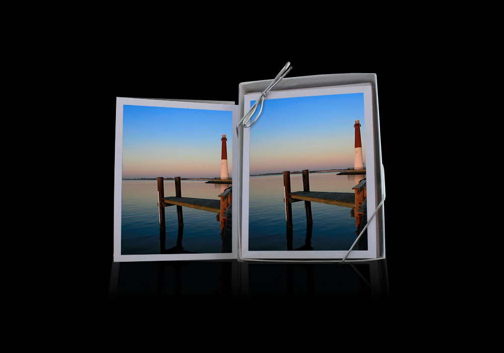 Lighthouse Dock Notecards