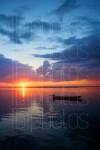 Bay Motorboat Sunset 03 (Color)