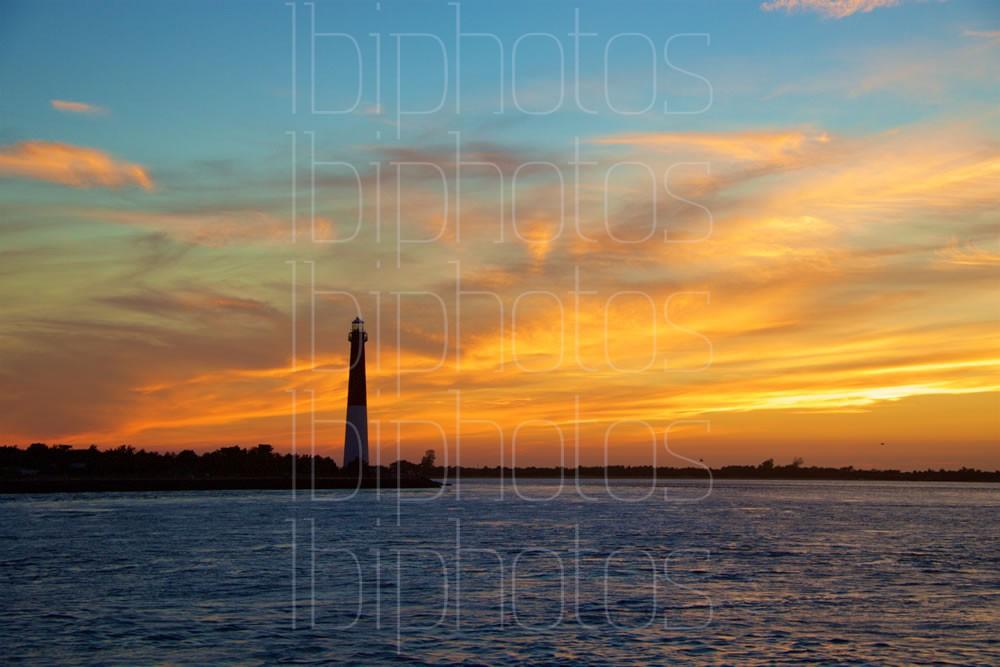 Lighthouse Orange Sky 01 (Color)